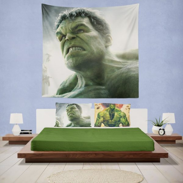 Hulk in Marvel Avengers Age of Ultron Movie Wall Hanging Tapestry