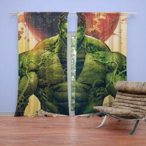 Incredible Hulk Sketch Curtain