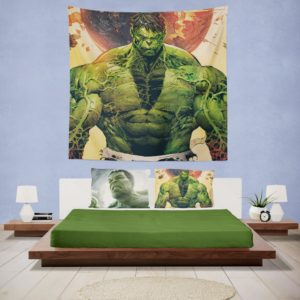 Incredible Hulk Sketch Wall Hanging Tapestry
