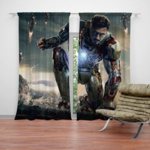 Iron Man 3 Movie Tony Stark Curtain