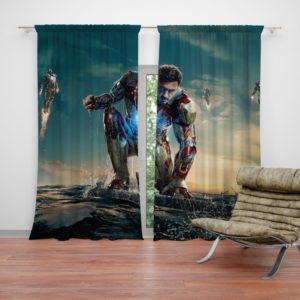 Iron Man 3 MovieTony Stark Robert Downey Jr. Curtain
