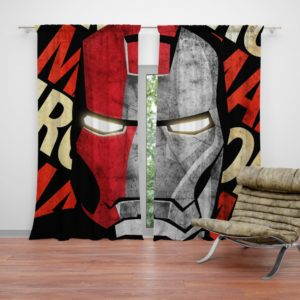 Iron Man Armor Model 9 Helmet Curtain