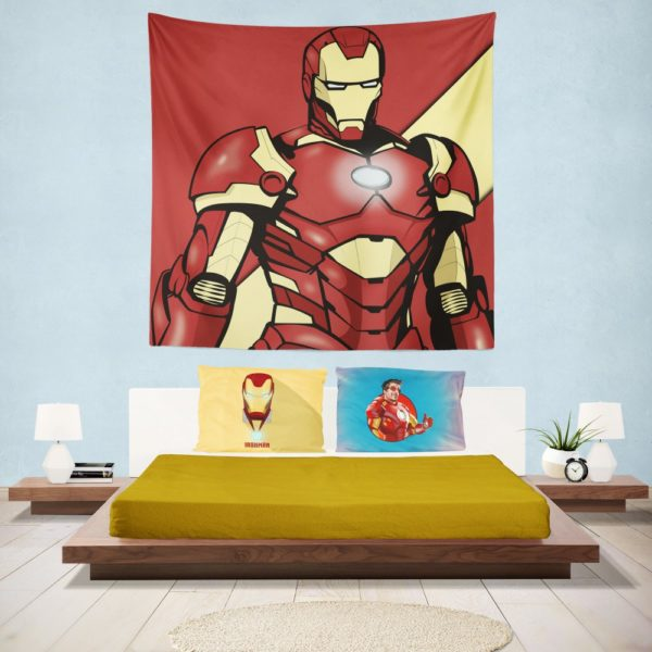 Iron Man Marvel Comics Superhero Wall Hanging Tapestry