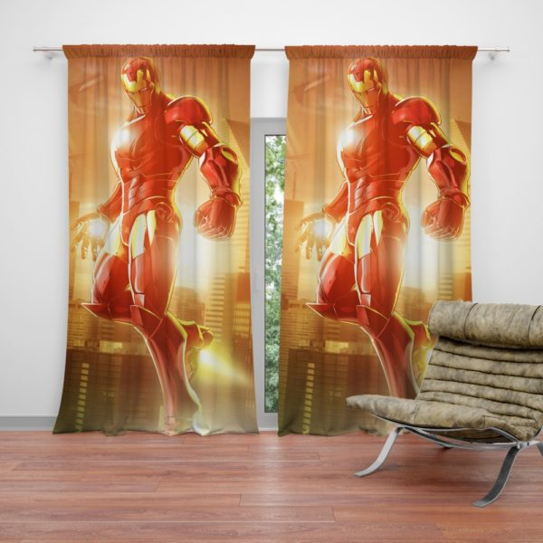 Iron Man Marvel vs. Capcom 3 Fate of Two Worlds Game Curtain