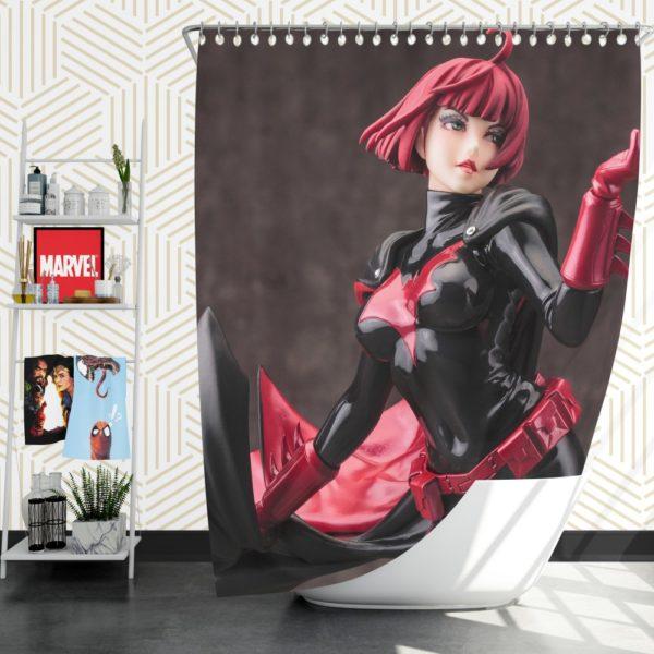 Kotobukiya Batwoman Dc Comics Bishoujo Statue Shower Curtain