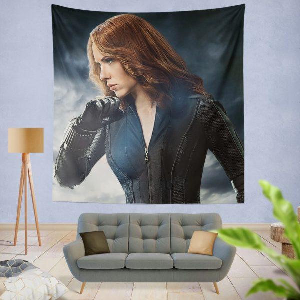 Marvel Avengers Super Hero Black Widow Wall Hanging Tapestry