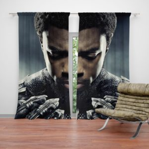 Marvel Black Panther T'Challa Chadwick Boseman Curtain