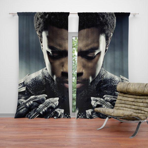 Marvel Black Panther T'Challa Chadwick Boseman Curtain