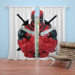 Marvel Bust Bank Deadpool Action Figures Curtain