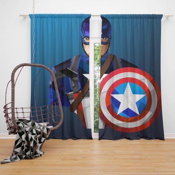 Marvel Captain America Captain America The Winter Soldier Curtain