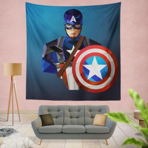 Marvel Captain America Captain America The Winter Soldier Wall Hanging Tapestry