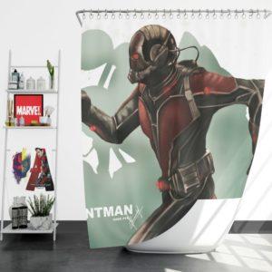 Marvel Comics Ant-Man Movie Hank Pym Shower Curtain