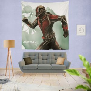 Marvel Comics Ant-Man Movie Hank Pym Wall Hanging Tapestry
