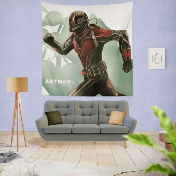 Marvel Comics Ant-Man Movie Hank Pym Wall Hanging Tapestry