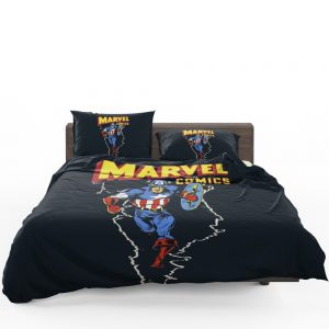 Marvel Comics Captain America Project Rebirth Bedding Set 1