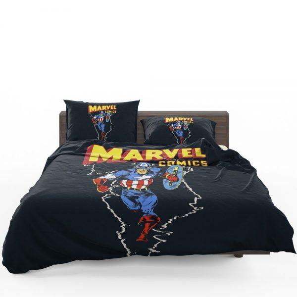 Marvel Comics Captain America Project Rebirth Bedding Set 1