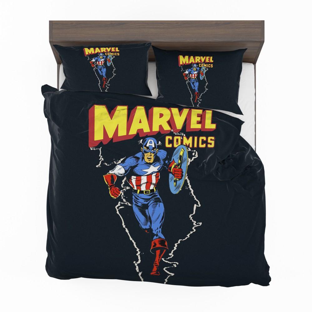 Marvel Comics Captain America Project Rebirth Bedding Set 2