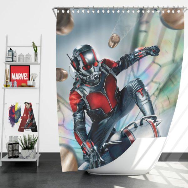 Marvel Comics Fictional SuperHero Ant-Man Shower Curtain