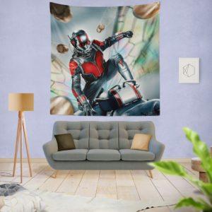Marvel Comics Fictional SuperHero Ant-Man Wall Hanging Tapestry