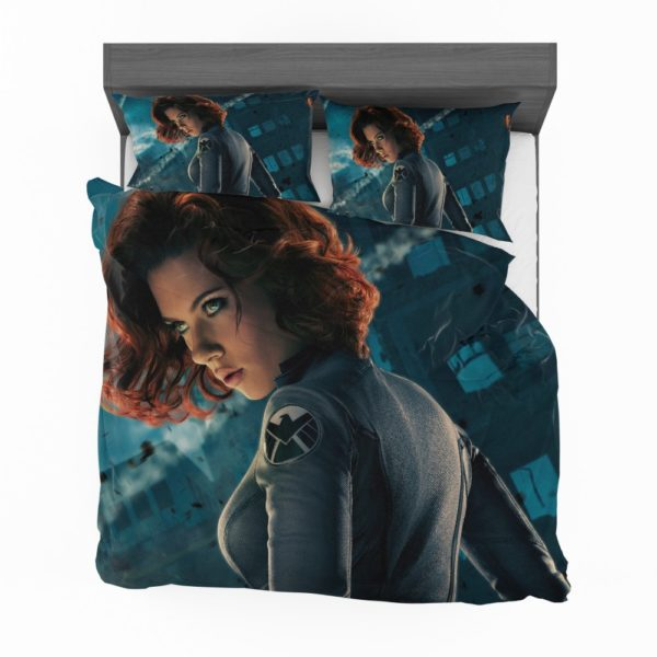 Natasha Romanova Black Widow The Avenger Bedding Set 2