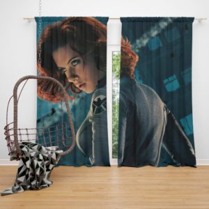 Natasha Romanova Black Widow The Avenger Curtain