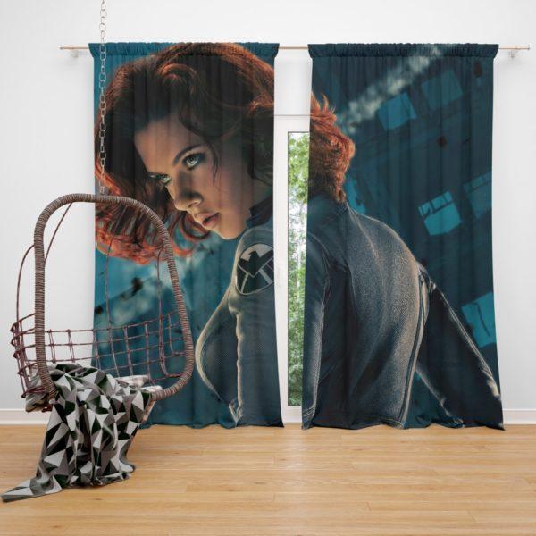 Natasha Romanova Black Widow The Avenger Curtain