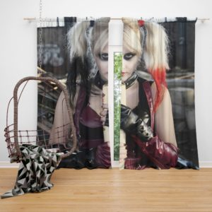 Suicide Squad Harley Quinn Cosplay Curtain