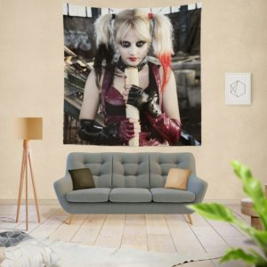 Suicide Squad Harley Quinn Cosplay Wall Hanging Tapestry