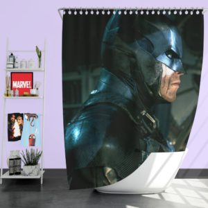 The Joker Arkham Origins Batman Shower Curtain