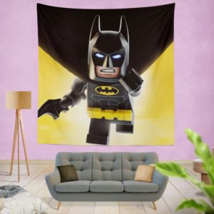 The Lego Batman DC Universe Movie Wall Hanging Tapestry