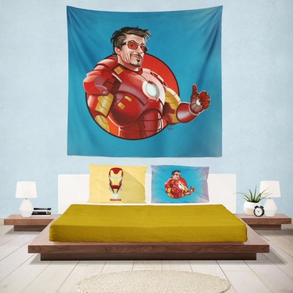 Tony Stark Iron Man Wall Hanging Tapestry