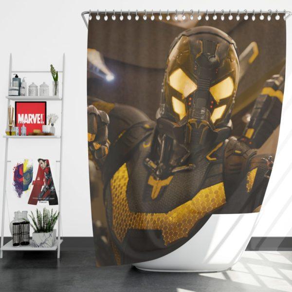 Yellowjacket Darren Cross Ant-Man Movie Shower Curtain