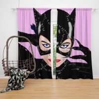 Catwoman Arkham City Michelle Pfeiffer Curtain