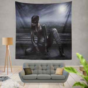 Catwoman DC Super Heroine Wall Hanging Tapestry