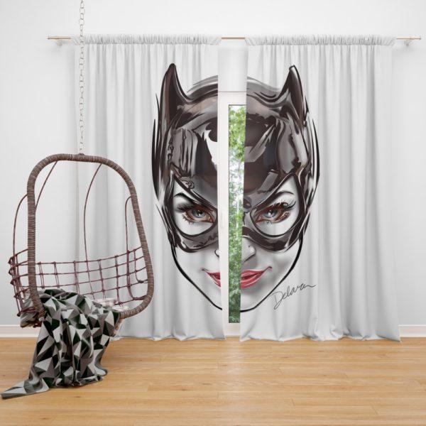 Catwoman Gotham Arkham City Curtain