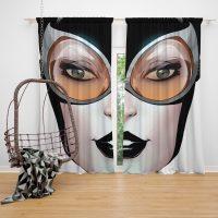 Catwoman Theme DC Comics Curtain