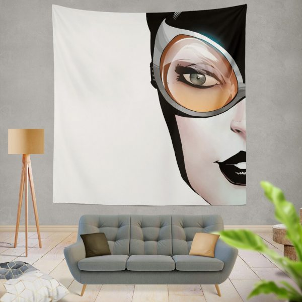 Catwoman Theme DC Comics Wall Hanging Tapestry