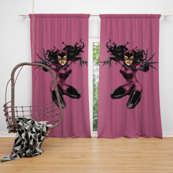 DC Comics Selina Kyle Catwoman Gotham Curtain