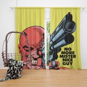 Daredevil Comics Super Hero Curtain