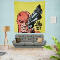 Daredevil Comics Super Hero Wall Hanging Tapestry
