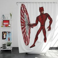 Daredevil Fan Art Shower Curtain