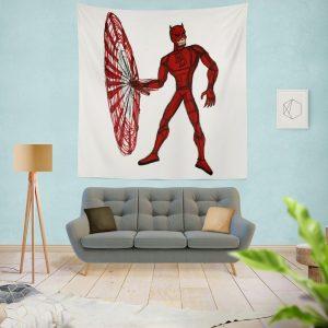 Daredevil Fan Art Wall Hanging Tapestry