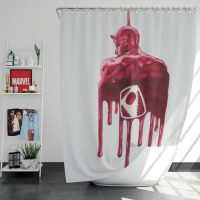 Daredevil Nalgene Tritan Marvel Shower Curtain