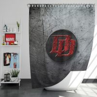 Daredevil TV series Logo Shower Curtain