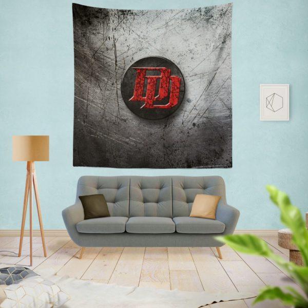Daredevil TV series Logo Wall Hanging Tapestry