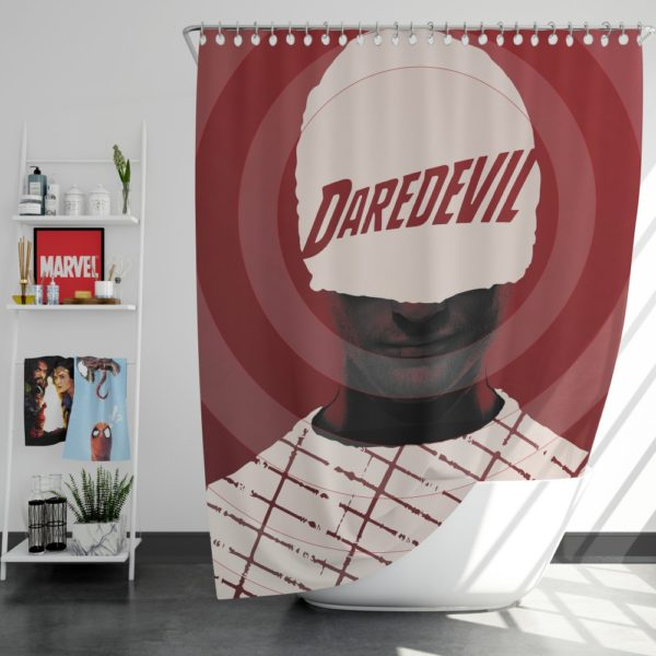 Daredevil The Man Without Fear Shower Curtain