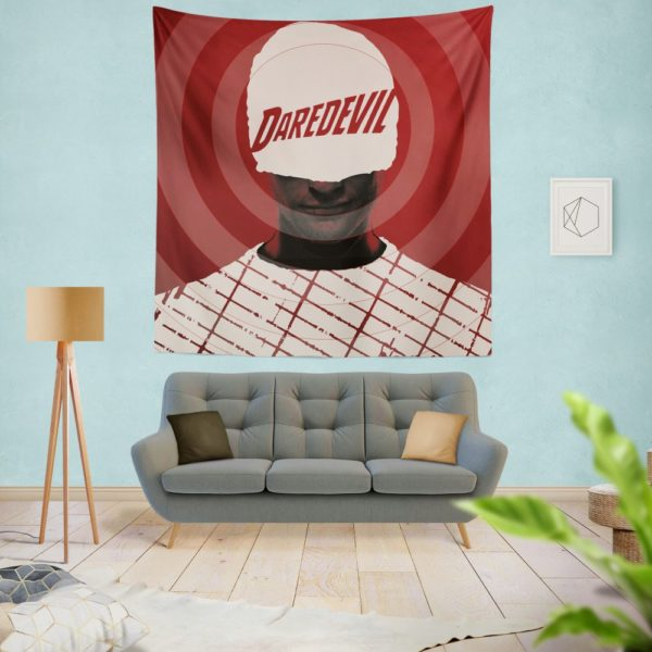 Daredevil The Man Without Fear Wall Hanging Tapestry