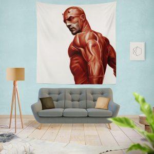 Matt Murdock Marvel Comics Daredevil Wall Hanging Tapestry
