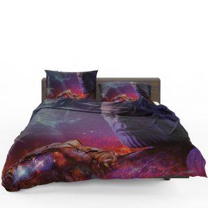 Avengers Infinity War Movie Thanos Infinity Gauntlet   Bedding Set