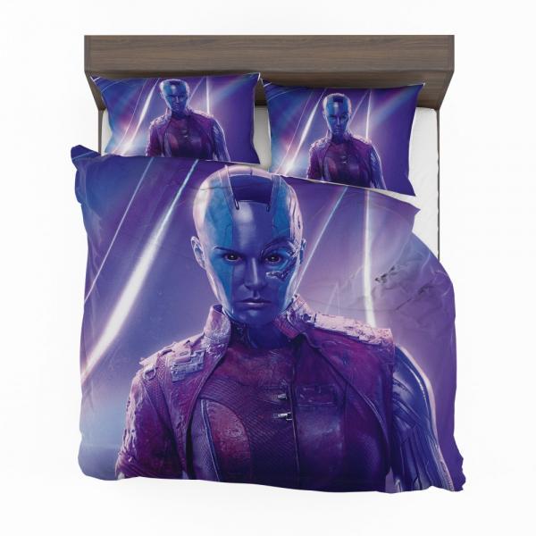 Avengers Infinity War Nebula Marvel Comics Karen Gillan Bedding Set
